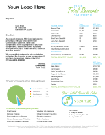 Dollar compensation statements home for Compensation summary template